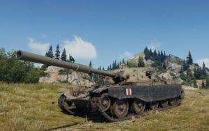 Получение танка за ГК