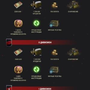Награды в Ранговых боях